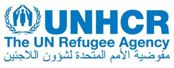 UNHCR Arabic logo